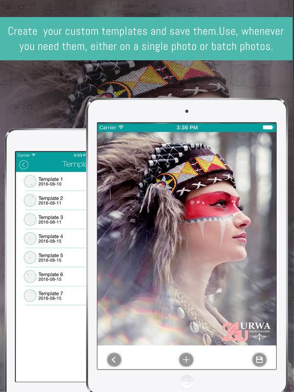 eZy Watermark - Photo Watermarking App Screenshots
