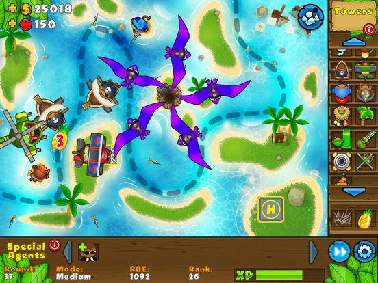Bloons TD 5 HD screenshot