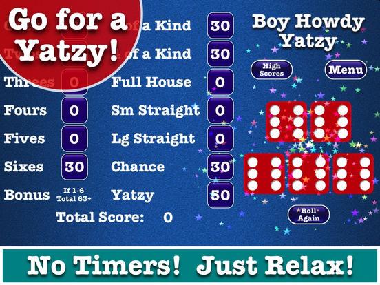 Free Yatzy Classic Dice Rolling Game like Yahtzee screenshot