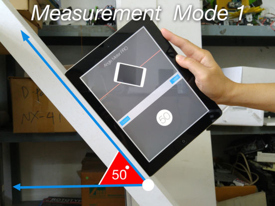 Angle Meter PRO HD for iPad Screenshots