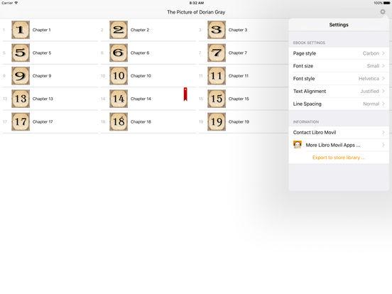 The Picture of Dorian Gray - Oscar Wilde iPad Screenshot 2