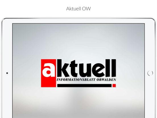 Aktuell OW iPad Screenshot 1
