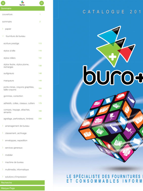 App shopper buro catalogs for Buro plus catalogue