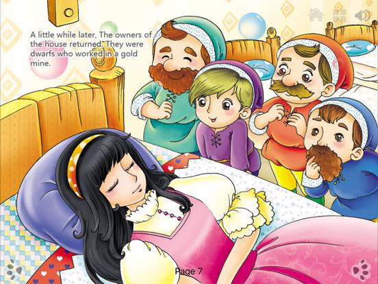 Snow White-Interactive Book-iBigToy iPad Screenshot 5