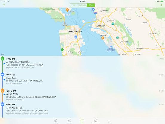 ServiceM8 iPad Screenshot 2