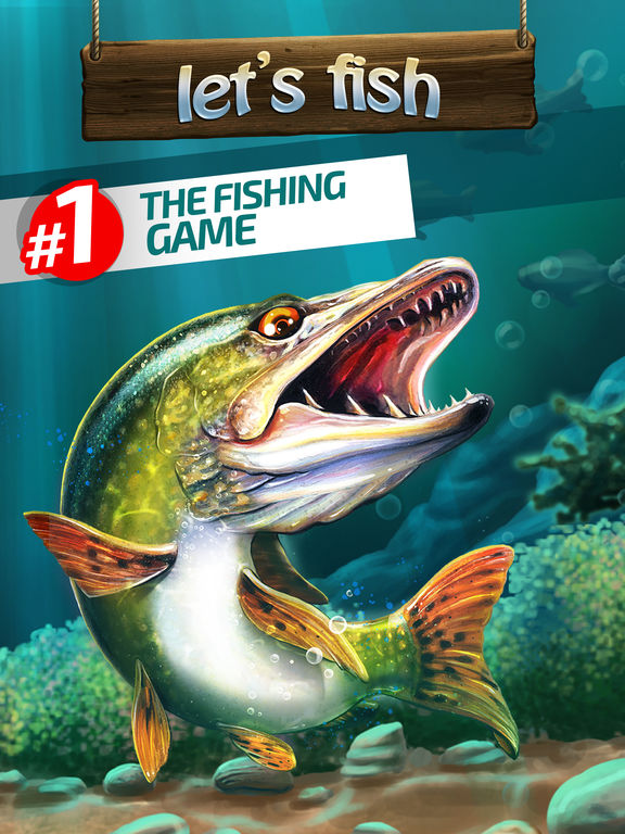 Let 39 s fish sport fishing games bass simulator on the app for Bass fishing apps