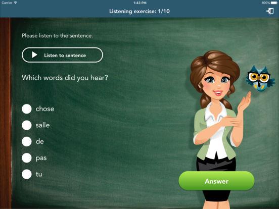 French Class iPad Screenshot 5