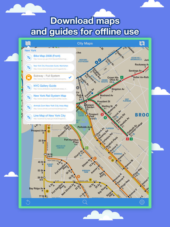 New York City Maps - NYC Subway and Travel Guides Screenshots
