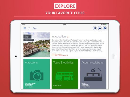 Bern City tripwolf Travel Guide iPad Screenshot 1