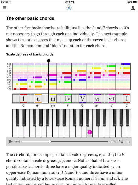 Hooktheory I: Music Theory screenshot