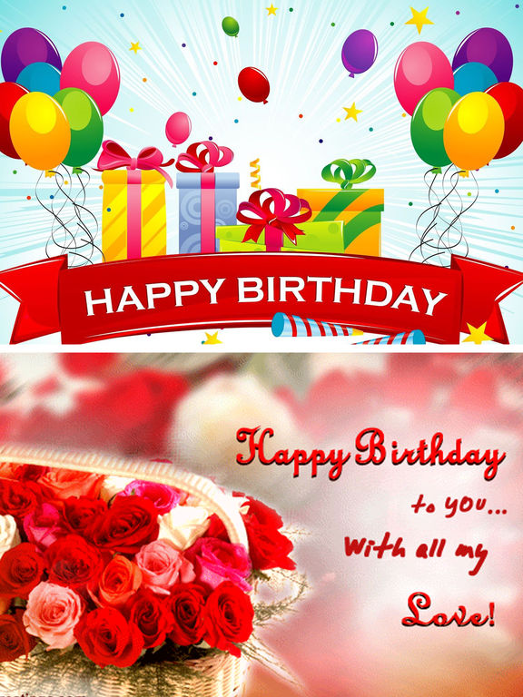 Birthday Cards Ideas Cool Bday Card for Friends on the App Store – Ipad Birthday Card