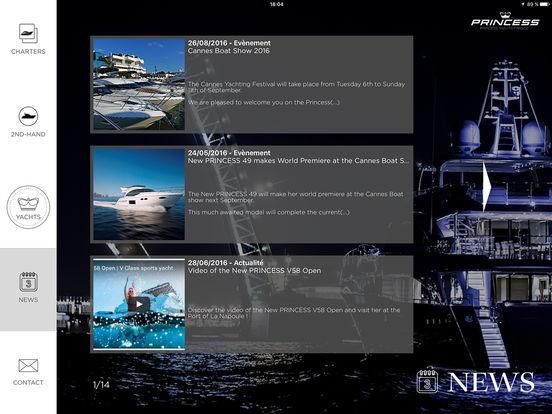 Princess Yachts iPad Screenshot 5