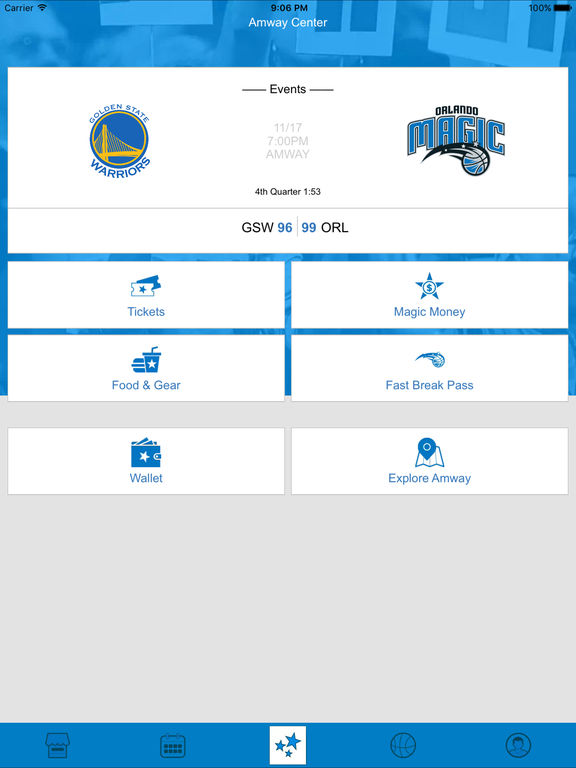 Orlando magic mobile on the app store Majic app