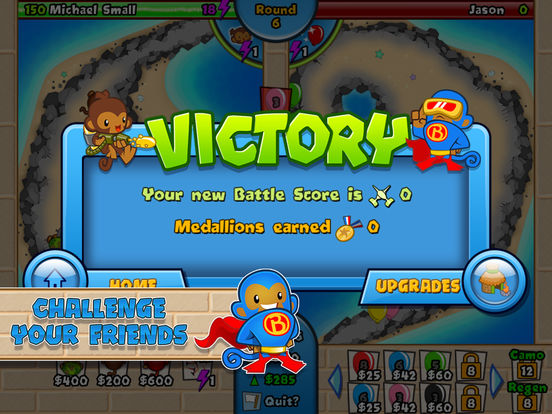Screenshots of Bloons TD Battles for iPad