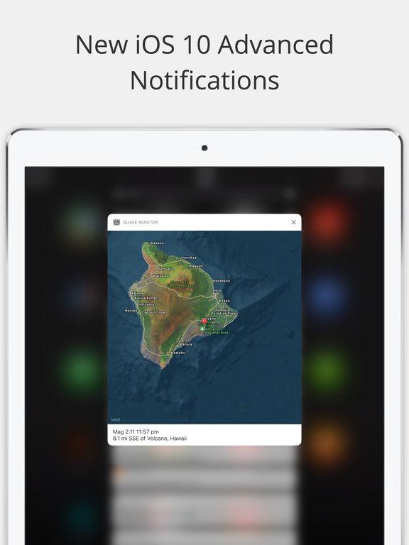 Earthquake Monitor - Alerts and USGS Earthquake Data screenshot