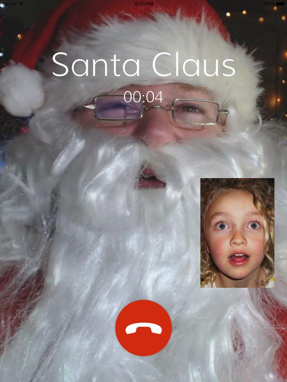 father christmas call app
