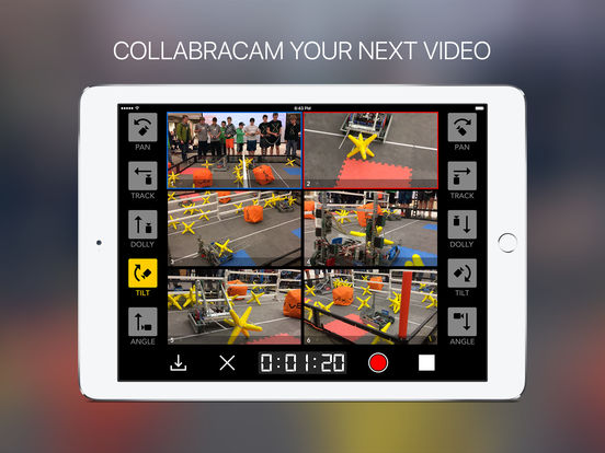 CollabraCam iPad Screenshot 1