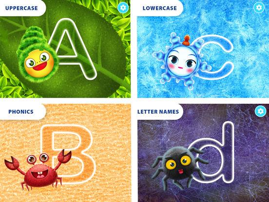 Yum-Yum Letters: handwriting for kids and alphabet Screenshots