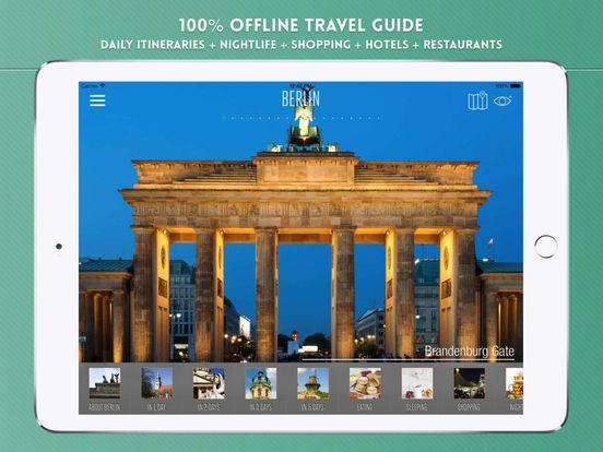 Berlin: Travel Guide iPad Screenshot 1