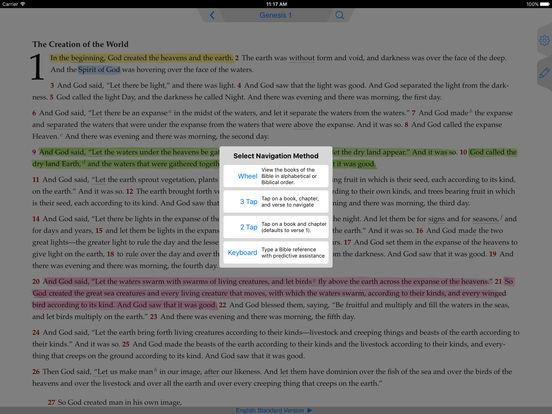 The ESV Bible iPad Screenshot 3
