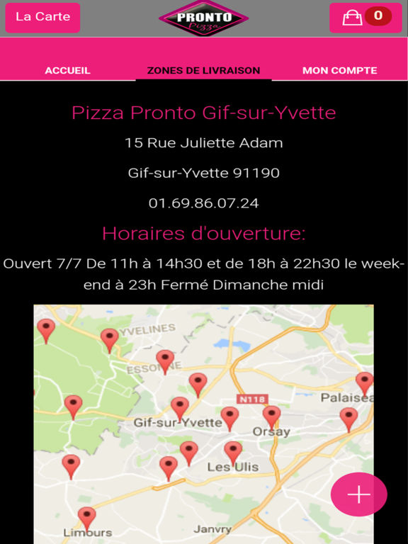 pizza pronto gif sur yvette on the app store. Black Bedroom Furniture Sets. Home Design Ideas