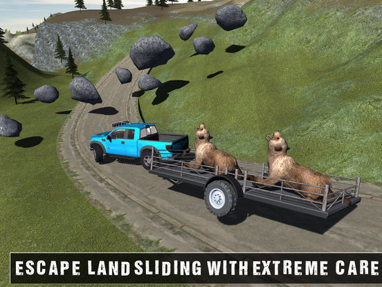 Игра Off Road Animal Transporter 4x4