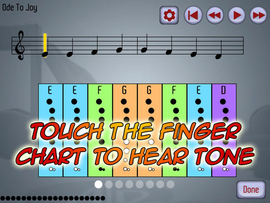 PlayAlong Recorder Screenshot