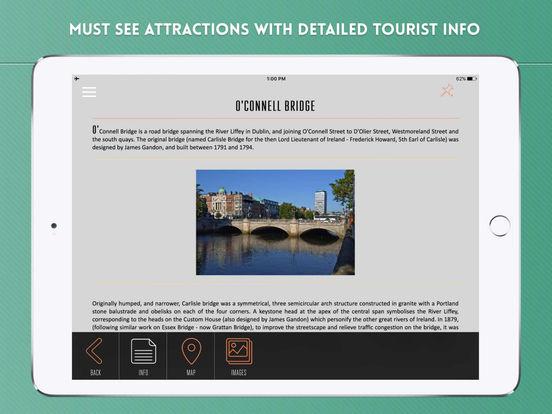Dublin Travel Offline iPad Screenshot 3