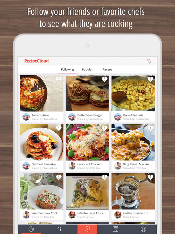 Recipe Cloud - Best Recipes Organizer & Shopping List screenshot