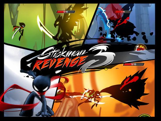 Игра Stickman Revenge 3