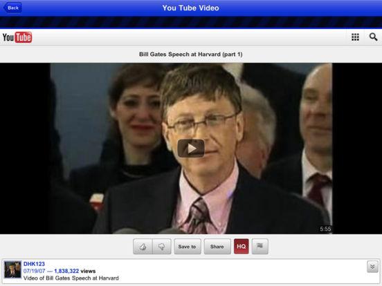 World's Best Educational Speeches iPad Screenshot 2
