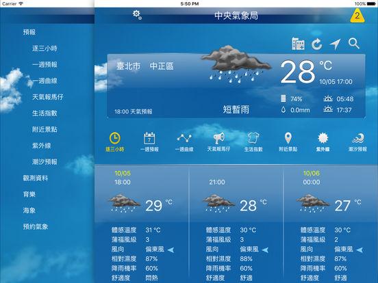 App Shopper: 中央氣象局W - 生活氣象HD (Weather)