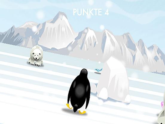 pinguin rennen