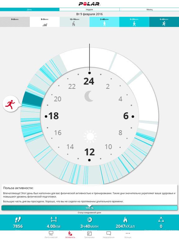 Polar Flow – Activity & Sports Analyzing Screenshot