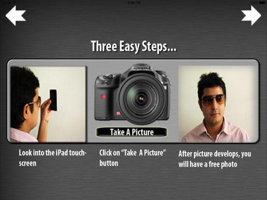 iTouchScreen Camera iPad Screenshot 2