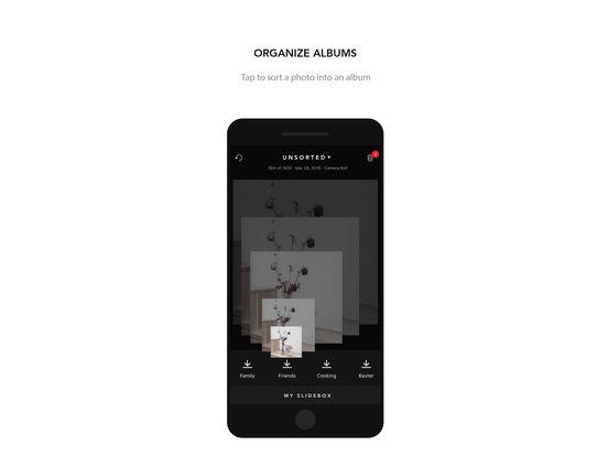 Slidebox - Photo Manager & Album Organizer screenshot