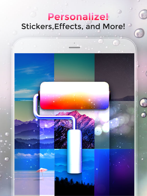 Screenshots of Cool Wallpapers & Backgrounds HD & Retina Free for iPad