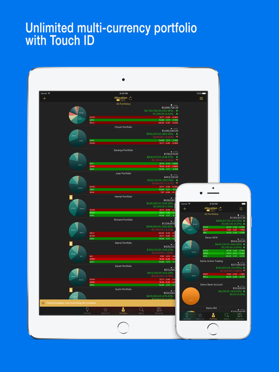 Stocks Live: Broker Sync Stock Market Game Changer screenshot