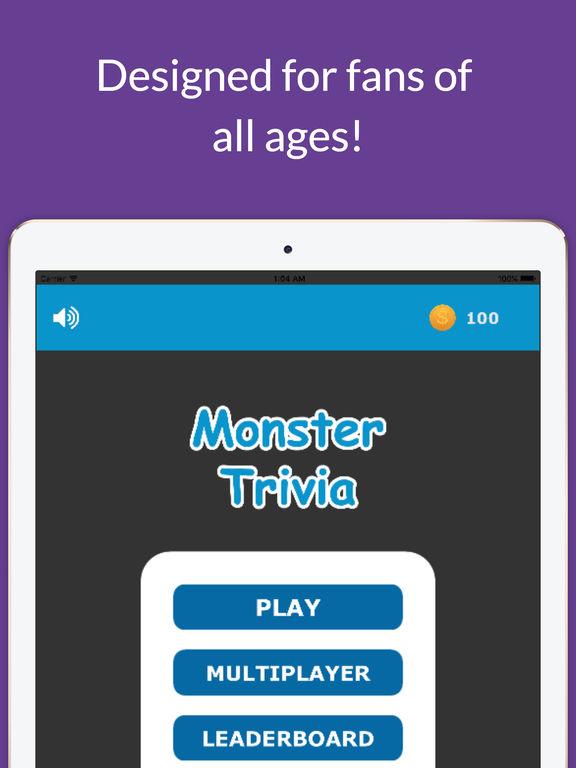 Screenshots of Monster Trivia Quiz - Pokemon Fan Edition for iPad