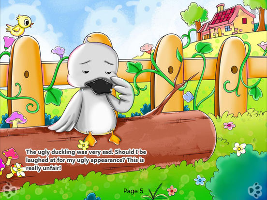 iBigToy-The Ugly Duckling HD Lite iPad Screenshot 3