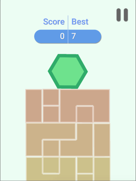 Buy Hexagon Crush Tower Balancing Puzzle Game with Six Sided Hexagon Read 4 Apps amp Games Reviews Amazoncom
