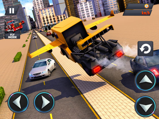 Modern Flying Truck Sim 3D для iPad