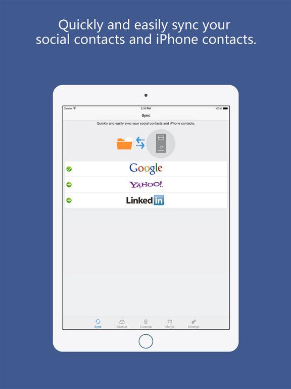 контакты синхронизация для Google Gmail Pro Screenshot