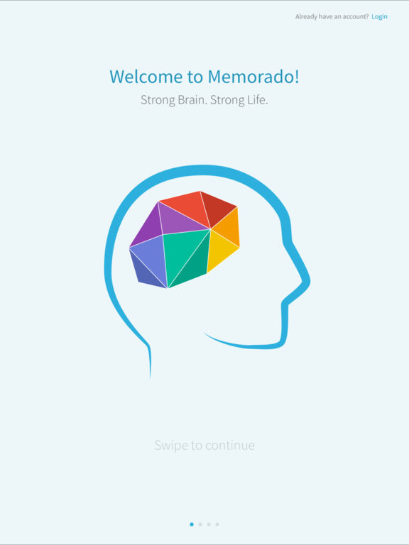 Memorado Brain Training for Memory & Mindfulness screenshot