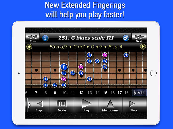 Guitar Modes Symmetry School iPad Screenshot 3