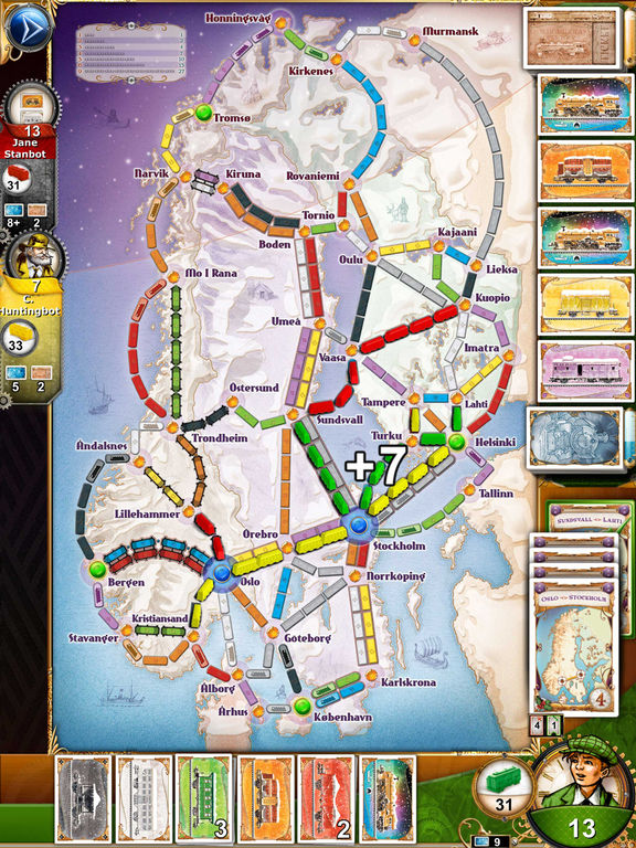Ticket to Ride Pocket Screenshots
