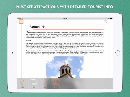 Boston: Travel Guide iPad Screenshot 3