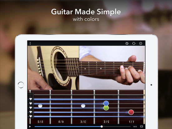 CoachGuitar - Guitar Lessons for Beginners with videos, tabs and tutorials to learn songs screenshot