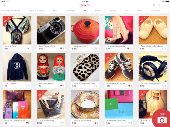 Mercari: Shopping Marketplace to Buy & Sell Used Screenshots
