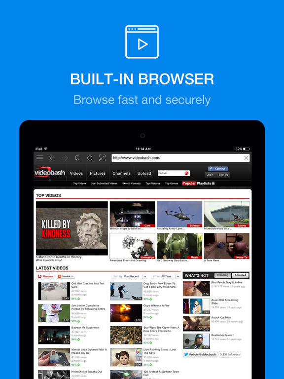Private Browser Free screenshot
